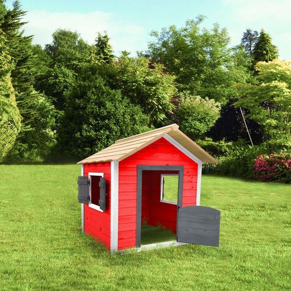 Home deluxe das kleine schloss spielhaus for Baumhaus furs kinderzimmer