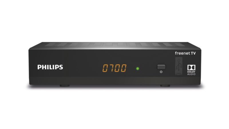 Philips DTR3502B Freenet TV DVB-T2-Receiver mit...