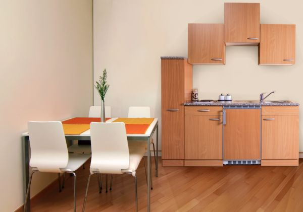 respekta k chenzeile kb180bb 180 cm buche nachbildung k chenblock k che ebay. Black Bedroom Furniture Sets. Home Design Ideas