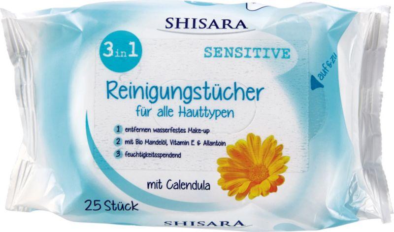 Shisara Reinigungstücher 3in1 Sensitive