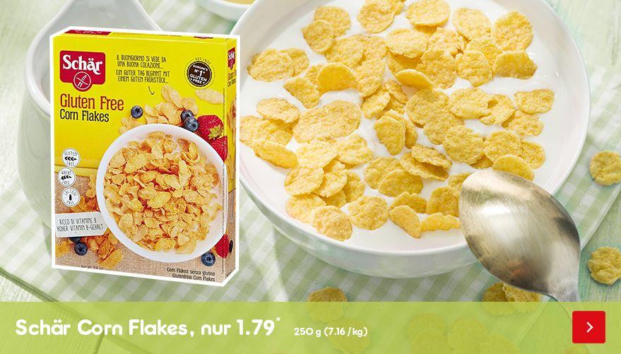 Schär Cornflakes, nur 1.79*