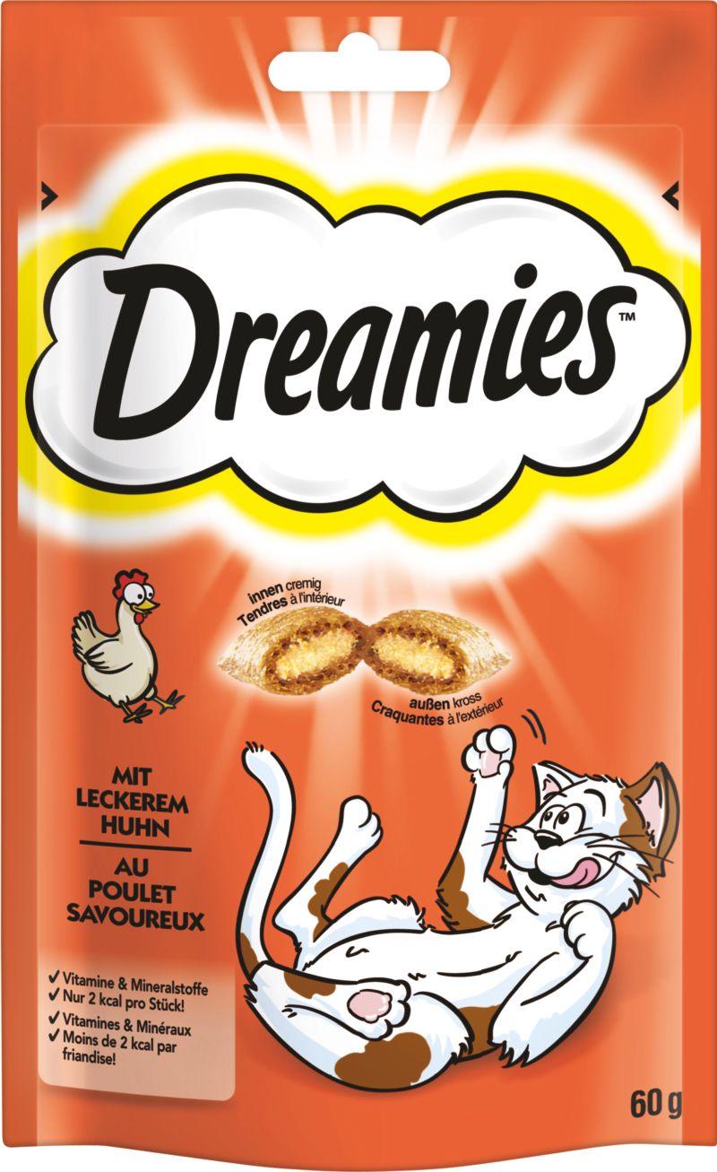 Dreamies™ Katzensnack Huhn 6 x 60g