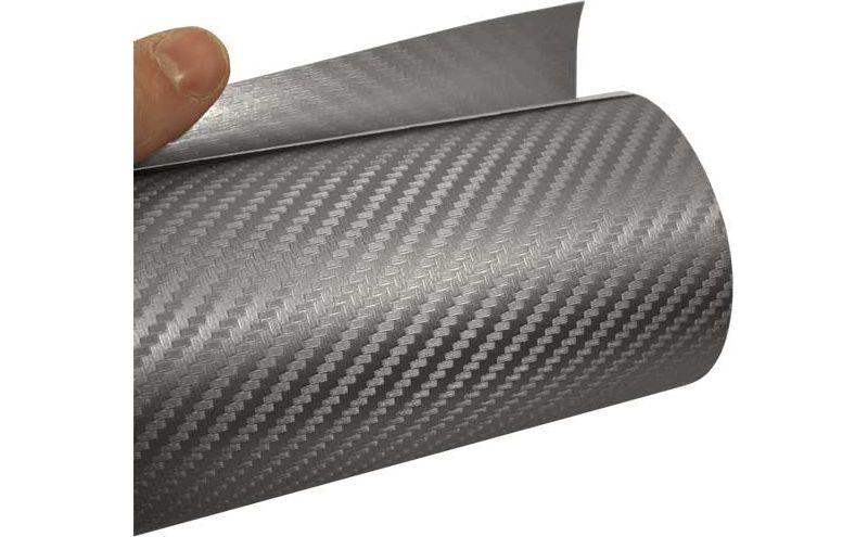 Mauk Carbonfolie, silber, 1,52 m x 3,0 m