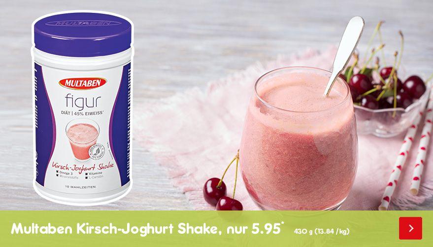Multaben figur Eiweiß-Diät Shake Kirsch-Joghurt, nur 5.95*