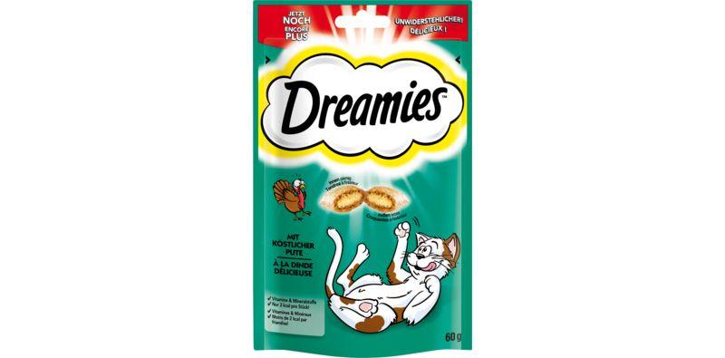 Dreamies™ Katzensnack Pute 6 x 60g