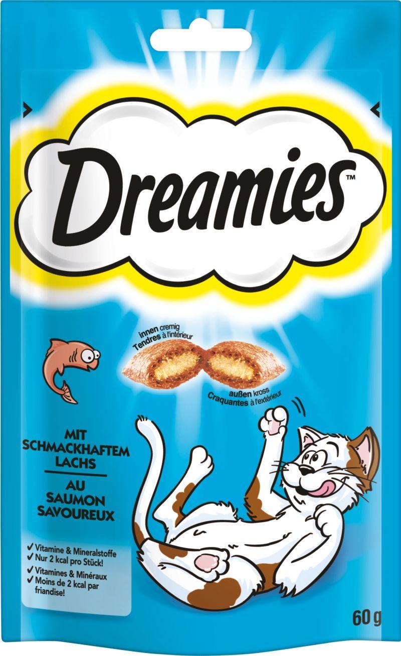 Dreamies™ Katzensnack Lachs 6 x 60g