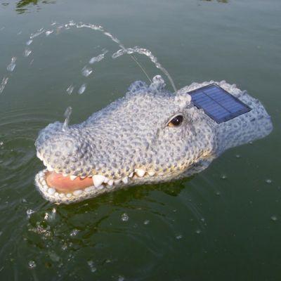 Solarspringbrunnenpumpe Krokodil