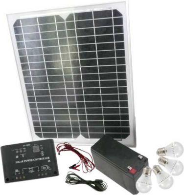 Mauk High-Tech Solar-Set 15 W mit Klickschaltern