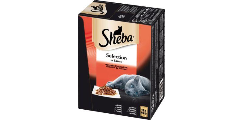 Sheba® Herzhafte Komposition Selection Sauce 4 ...