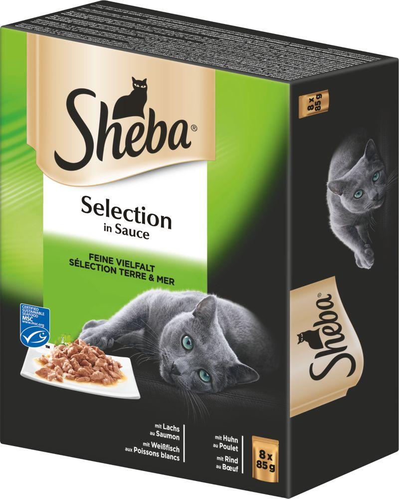 Sheba® Feine Vielfalt Selection Sauce 6 x 8 Pack