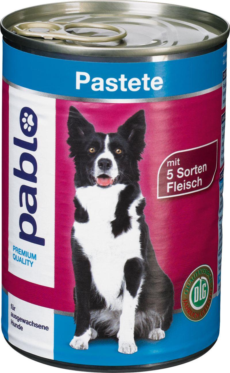 Pablo Pastete mit 5 Sorten Fleisch 12x400g = 4,8kg