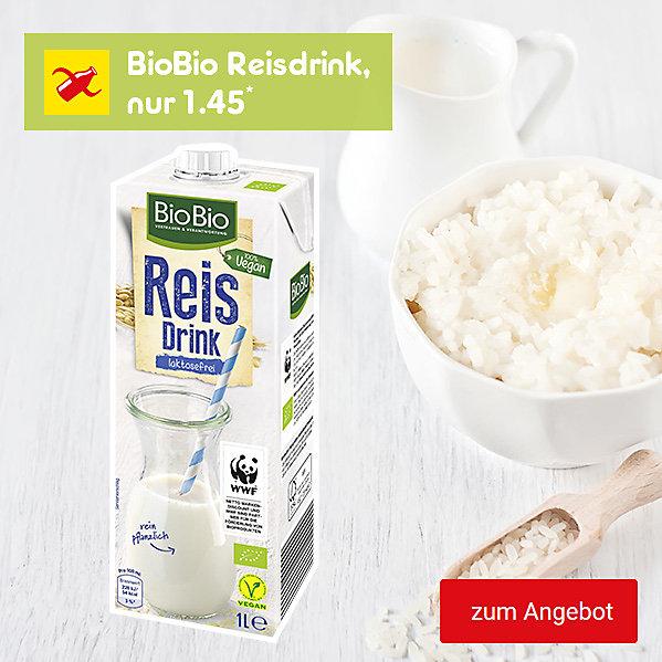 BioBio Reisdrink, nur 1.45*