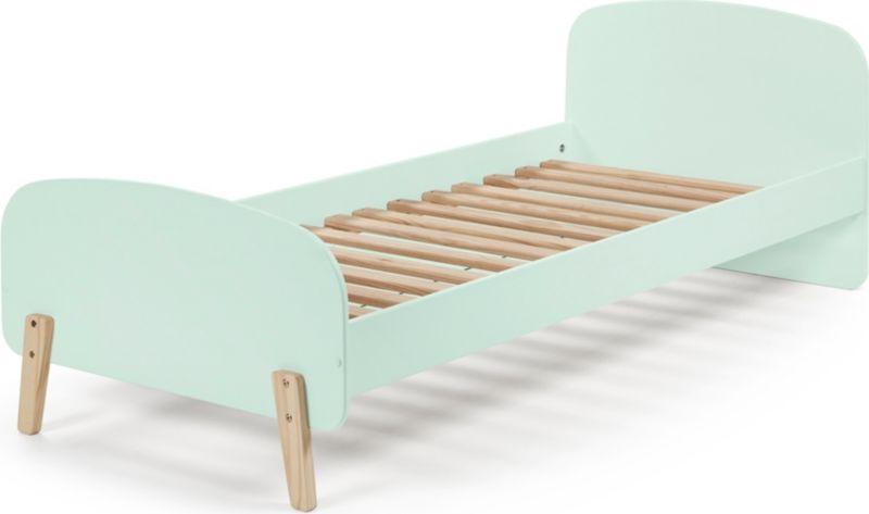 Vipack Einzelbett Kiddy 90x200 cm - Mintgrün