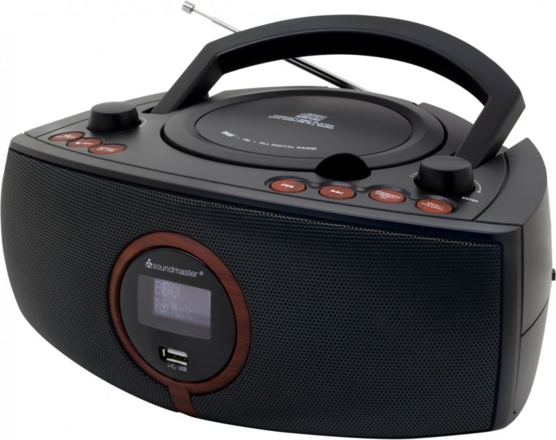 Soundmaster SCD1500SW Stereo DAB+/UKW-PLL Radio...