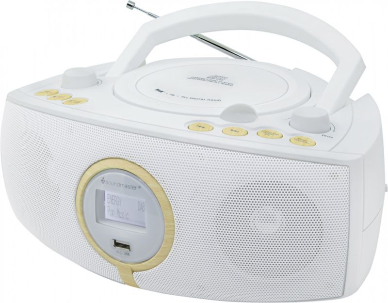 Soundmaster SCD1500WE Stereo DAB+/UKW-PLL Radio...