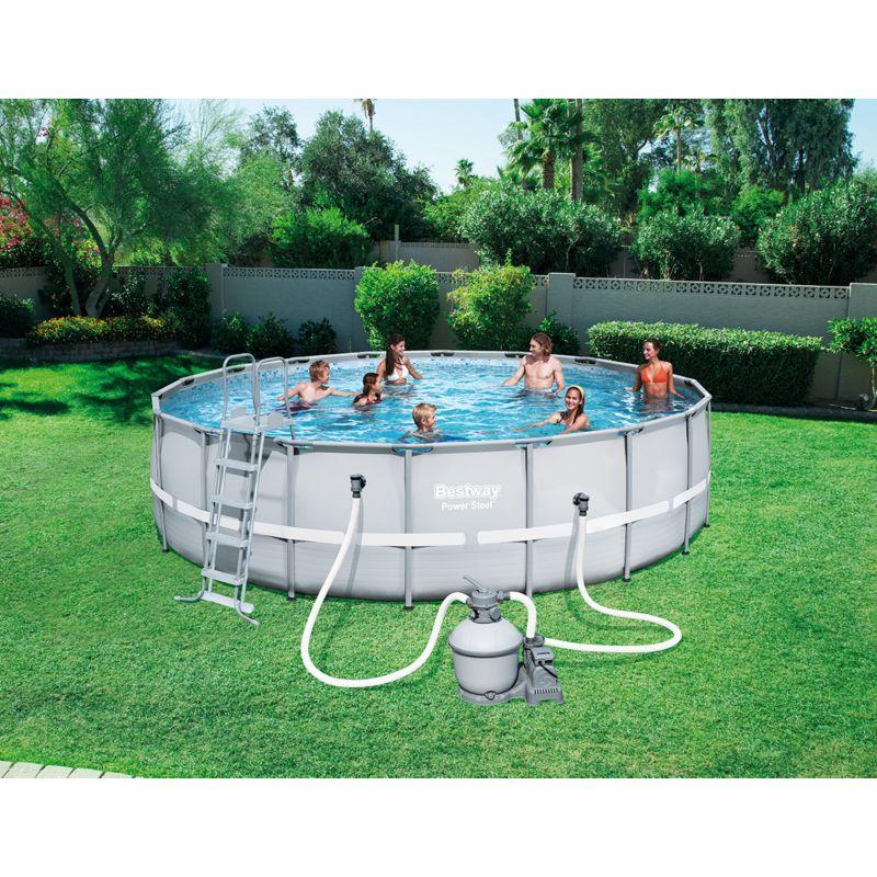 Rabatt gartencenter pools camping for Frame pool obi