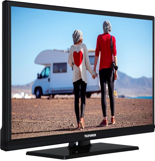 telefunken xh24d101vd 61 cm 24 zoll led tv ebay. Black Bedroom Furniture Sets. Home Design Ideas
