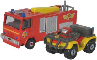 Feuerwehrmann Sam Fahrzeug, 2er - Jupiter-Mercury