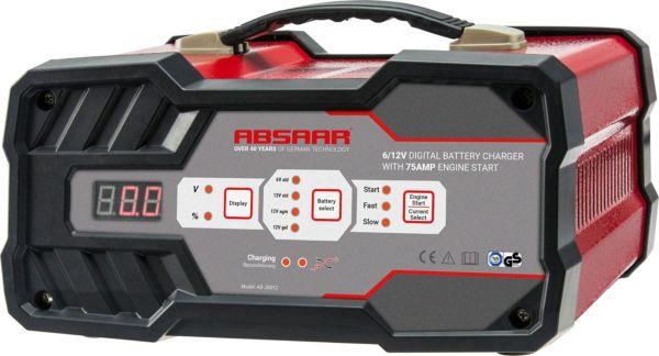 absaar ab js012 158006 12a 6 12v batterieladeger t mit. Black Bedroom Furniture Sets. Home Design Ideas