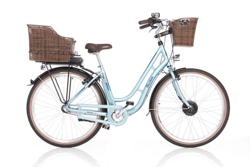 Fischer E-Bike City Retro Damen 28´´ 3-G ER 1804 hellblau