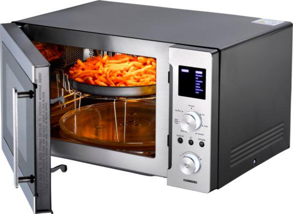 melissa 16 33 0121 mikrowelle mit grill umluft und homefry funktion ebay. Black Bedroom Furniture Sets. Home Design Ideas