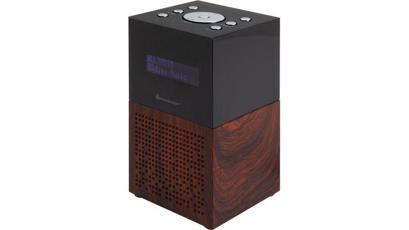 Soundmaster DAB+/ UKW Uhrenradio mit USB Ladebu...