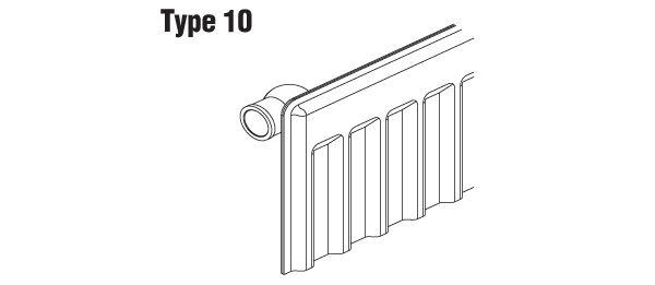 sanicomfort typ 10 e heizk rper h 30 cm versch ausf hrungen heizung heizen ebay. Black Bedroom Furniture Sets. Home Design Ideas