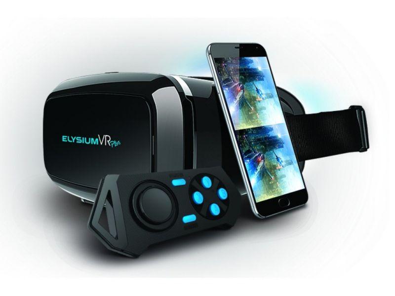 GoClever Elysium VR Plus Brille 3D virtual real...