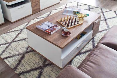 Couchtisch Eiche / Weiss MCA-Furniture Luzern
