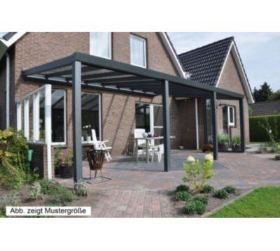 vp trading terrassenüberdachung 600 x 350 aus aluminium, inkl, Hause deko