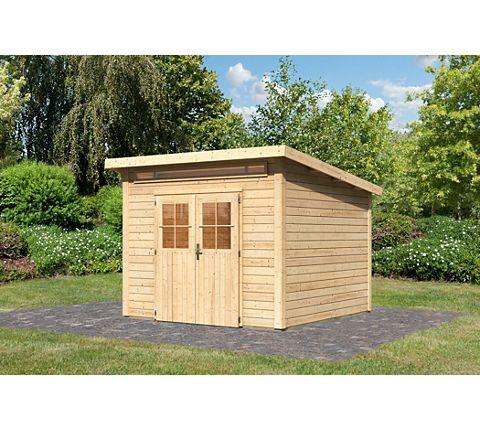 Blockbohlenhaus Im Garten ? Funktionaler Zusatz Zum Außenbereich ... Blockbohlenhaus Im Garten Funktional Ausenbereich