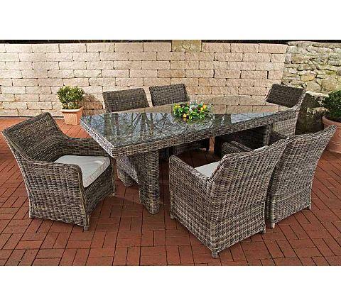 Moderne Stühle aus Kunststoff für den Garten