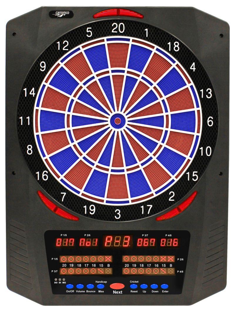 CARROMCO ELEKTRONIK DARTBOARD TOPAZ 901, MIT AD...
