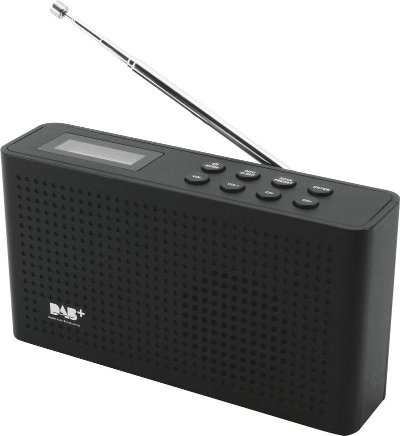 Soundmaster DAB150SW UKW RDS Radio, schwarz