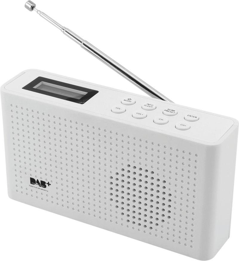 Soundmaster DAB150SW UKW RDS Radio, weiß