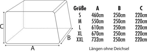 Green-Yard-Wohnwagen-Abdeckplane-Schutz-vor-Naesse-und-Schmutz-S-M-L-XL-XXL