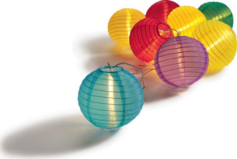 LED-Lichterkette XXL - bunt