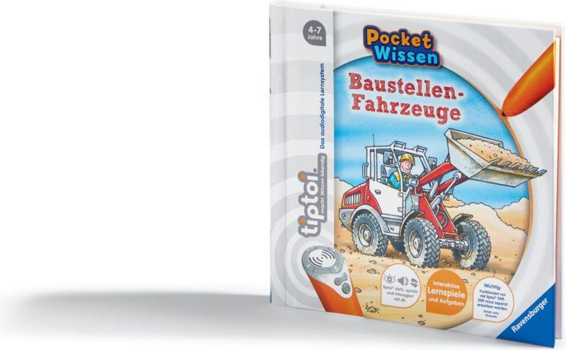 Ravensburger tiptoi® Pocket Wissen - Baustellen...