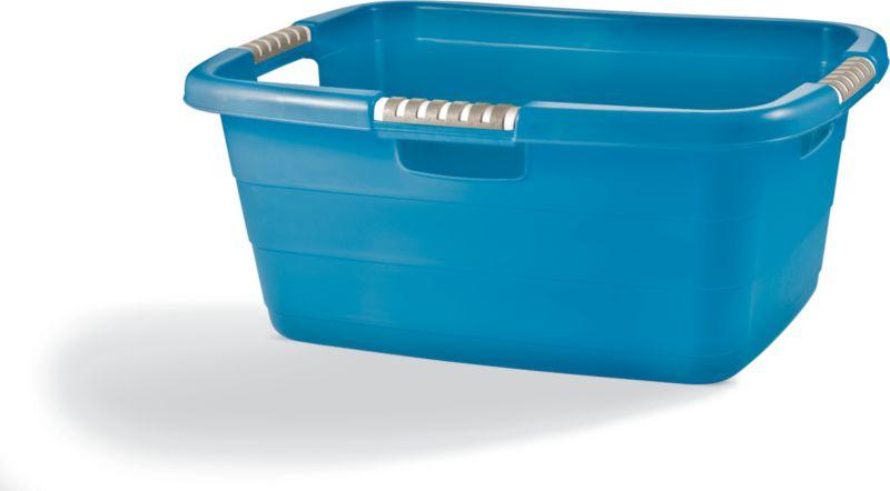 Priva Wäschewanne - metallic-blau