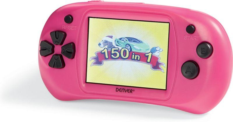 DENVER Spielekonsole GMP-240C MK2 - pink