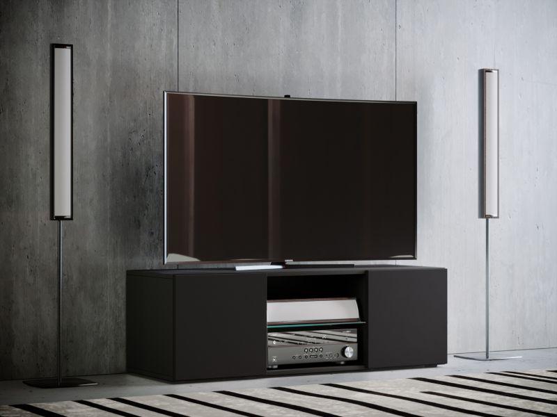 VCM TV - Lowboard ´´Jusa´´ Mini, schwarz