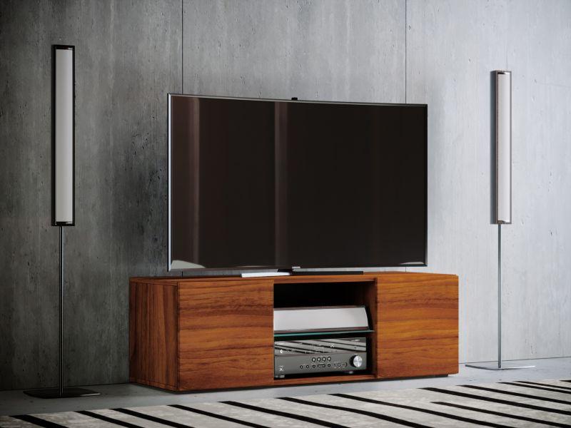 VCM TV - Lowboard ´´Jusa´´ Mini, Kern - Nussbaum