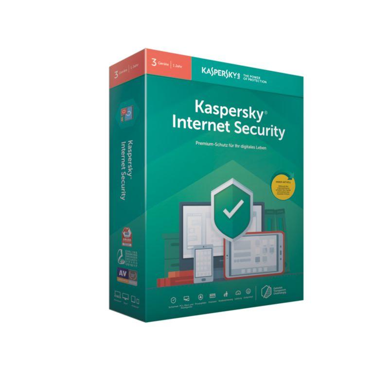 Kaspersky Internet Security 2019- 3 Geräte Upgr...