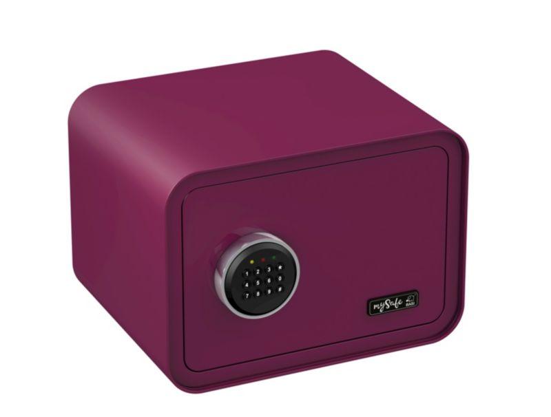 BASI Elektronik-Möbel-Tresor mySafe 350 Code, b...