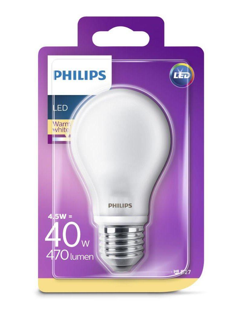 PHILIPS LED Leuchtmittel - Birne 40W A60 E27