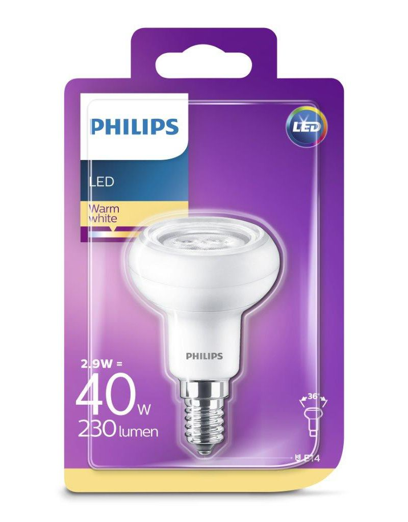 PHILIPS LED Leuchtmittel - Reflektor 40W R50 E14