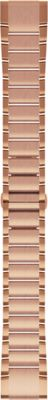 Garmin QuickFit 20 Watch Bands, Rose Gold-tone Stainless Steel