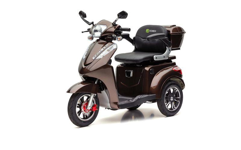 ECONELO S 1000 Elektro-Dreirad, braun