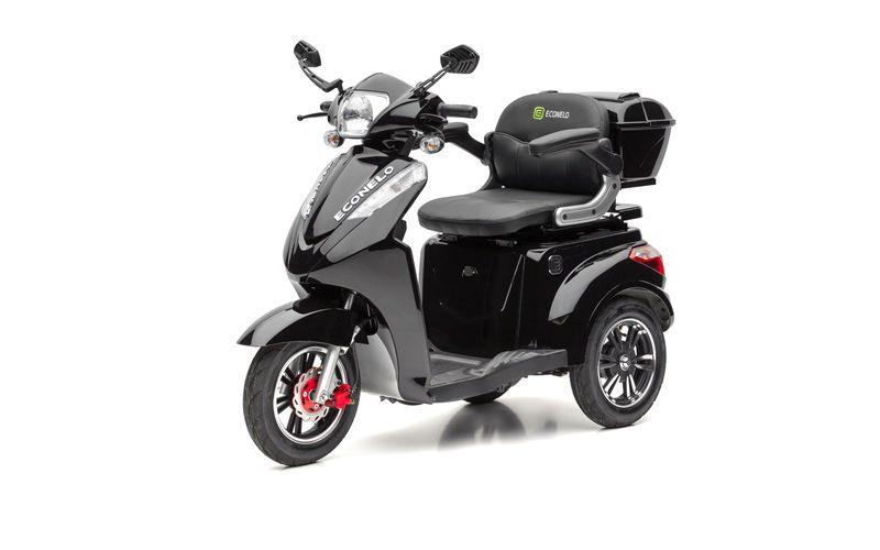 ECONELO S 1000 Elektro-Dreirad, schwarz