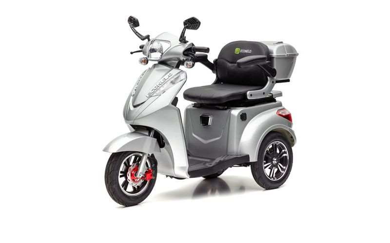 ECONELO S 1000 Elektro-Dreirad, silber